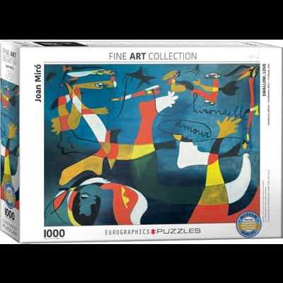 Eurographics Joan Miro - Swallow Love Jigsaw Puzzle