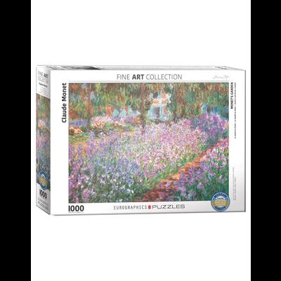 Eurographics Claude Monet - Monet's Garden Jigsaw Puzzle