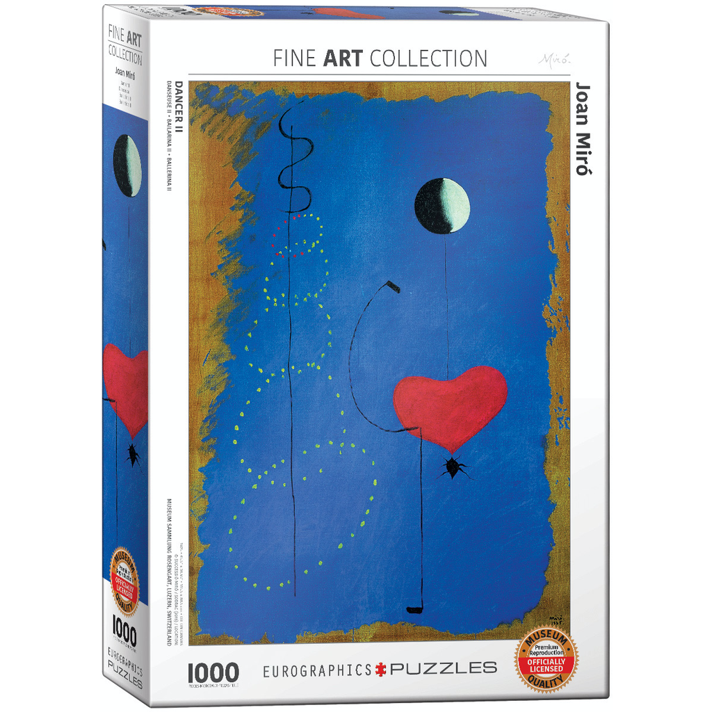 Eurographics Joan Miro - Dancer II Jigsaw Puzzle