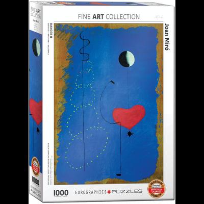 Eurographics Joan Miro - Dancer II Jigsaw Puzzle