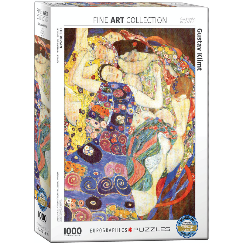Eurographics Gustav Klimt - The Virgin Jigsaw Puzzle