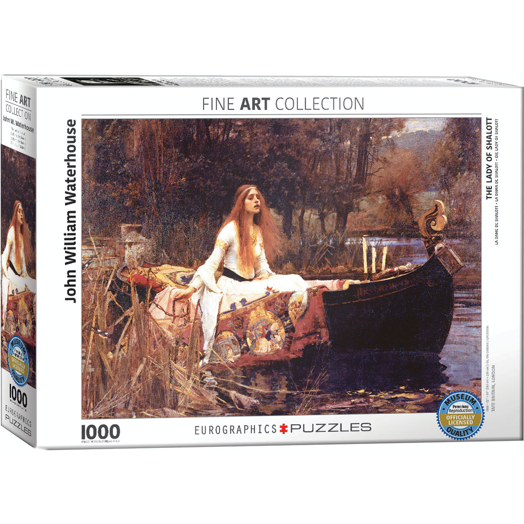 Eurographics John William Waterhouse - The Lady of Shalott Jigsaw Puzzle