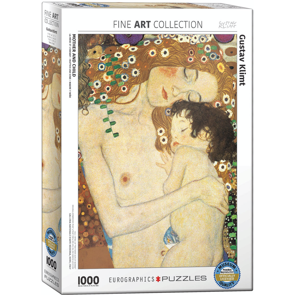 Eurographics Gustav Klimt - Mother and Child Jigsaw Puzzle