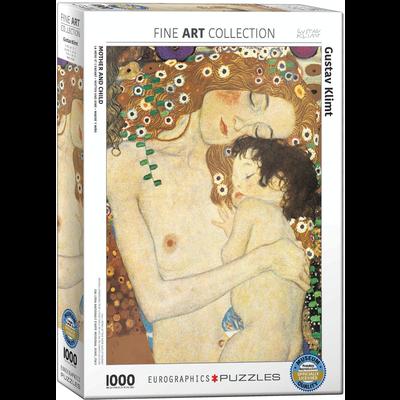 Eurographics Gustav Klimt - Mother and Child Jigsaw Puzzle