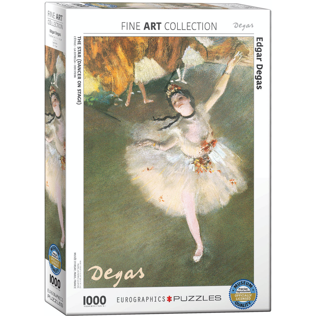 Eurographics Edgar Degas - Ballerina Jigsaw Puzzle