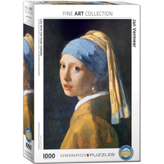 Eurographics Girl with the Pearl Earring Jigsaw Puzzle