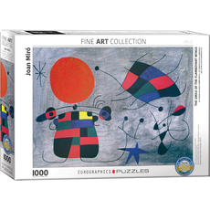 Eurographics joan Miro - Smile of the Flamboyant  Wings Jigsaw Puzzle