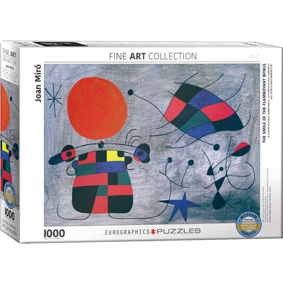 Eurographics joan Miro - Smile of the Flamboyant  Wings Jigsaw Puzzle