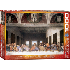 Eurographics Leonardo Da Vinci - The Last Supper Jigsaw Puzzle