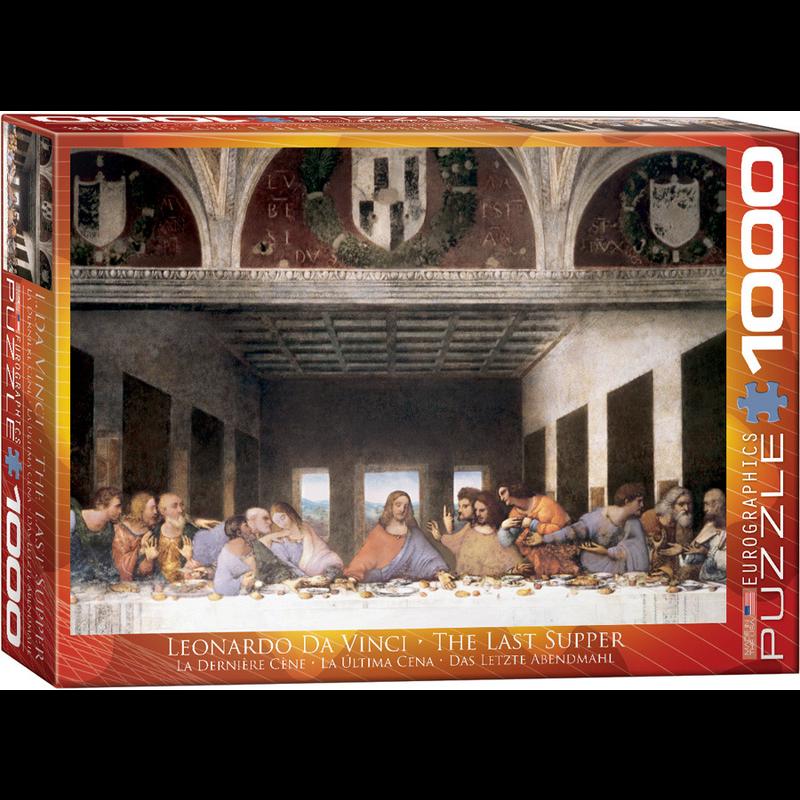 Eurographics Leonardo Da Vinci - The Last Supper Jigsaw Puzzle