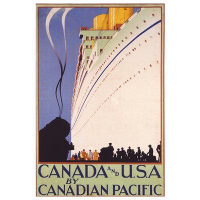 Eurographics Canada and U.S.A. by Canadian Pacific
