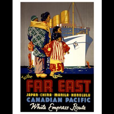 Eurographics To the Far East - Japan, China, Manila, Honolulu