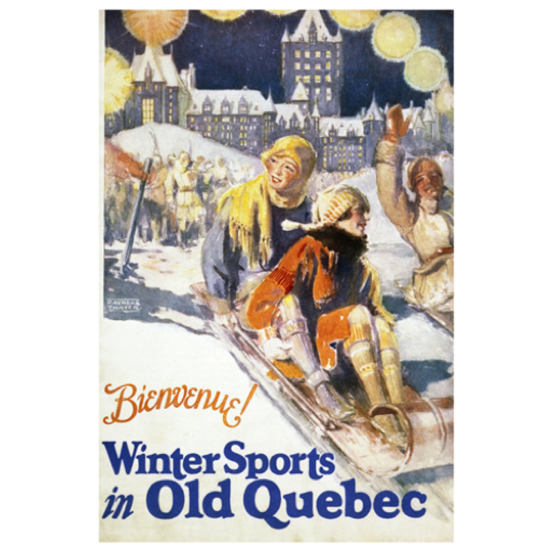 Eurographics Bienvenue! Winter Sports in Old Quebec