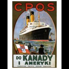 Eurographics Canadian Pacific Ocean Services - Do Kanady I Ameryki (Czech)