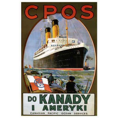 Eurographics Canadian Pacific Ocean Services - Do Kanady I Ameryki (Czech)