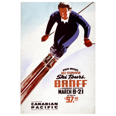 Eurographics All-Expense Ski Tours Banff in the Canadian Rockies