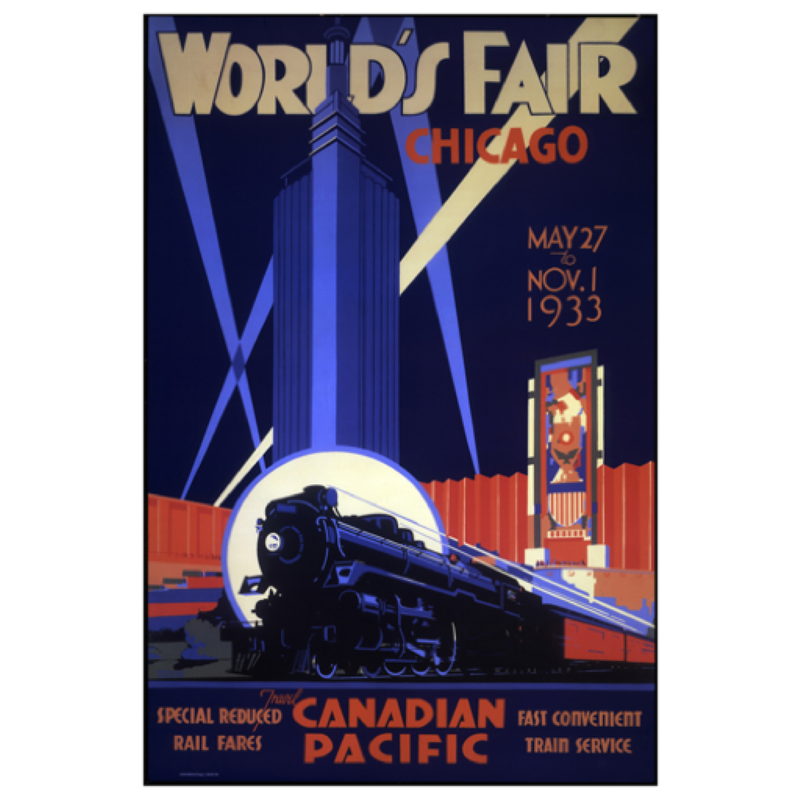 Eurographics World's Fair Chicago, 1933