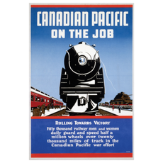 Eurographics Canadian Pacific on the Job - Rolling towards Victory