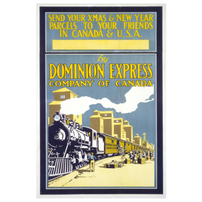 Eurographics Send Parcels in Canada and USA by Dominion Express