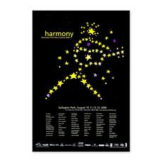 Vivid Print Edmonton Folk Music Festival 2000 Poster