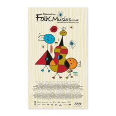 Vivid Print Edmonton Folk Music Festival 2012 Poster