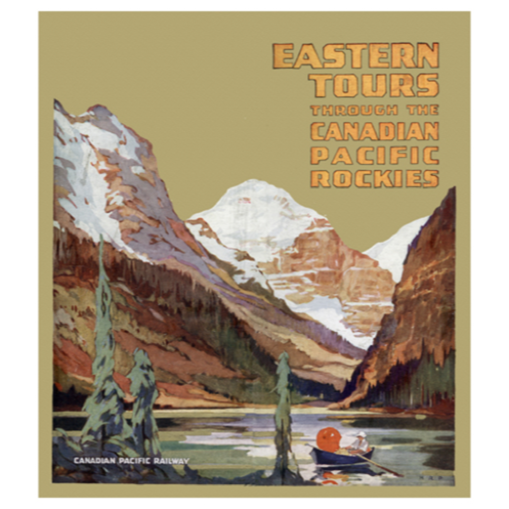 Eurographics Eastern Tours through the Canadian Pacific Rockies