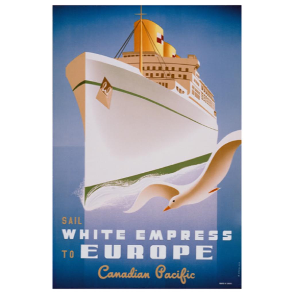 Eurographics Sail White Empress to Europe