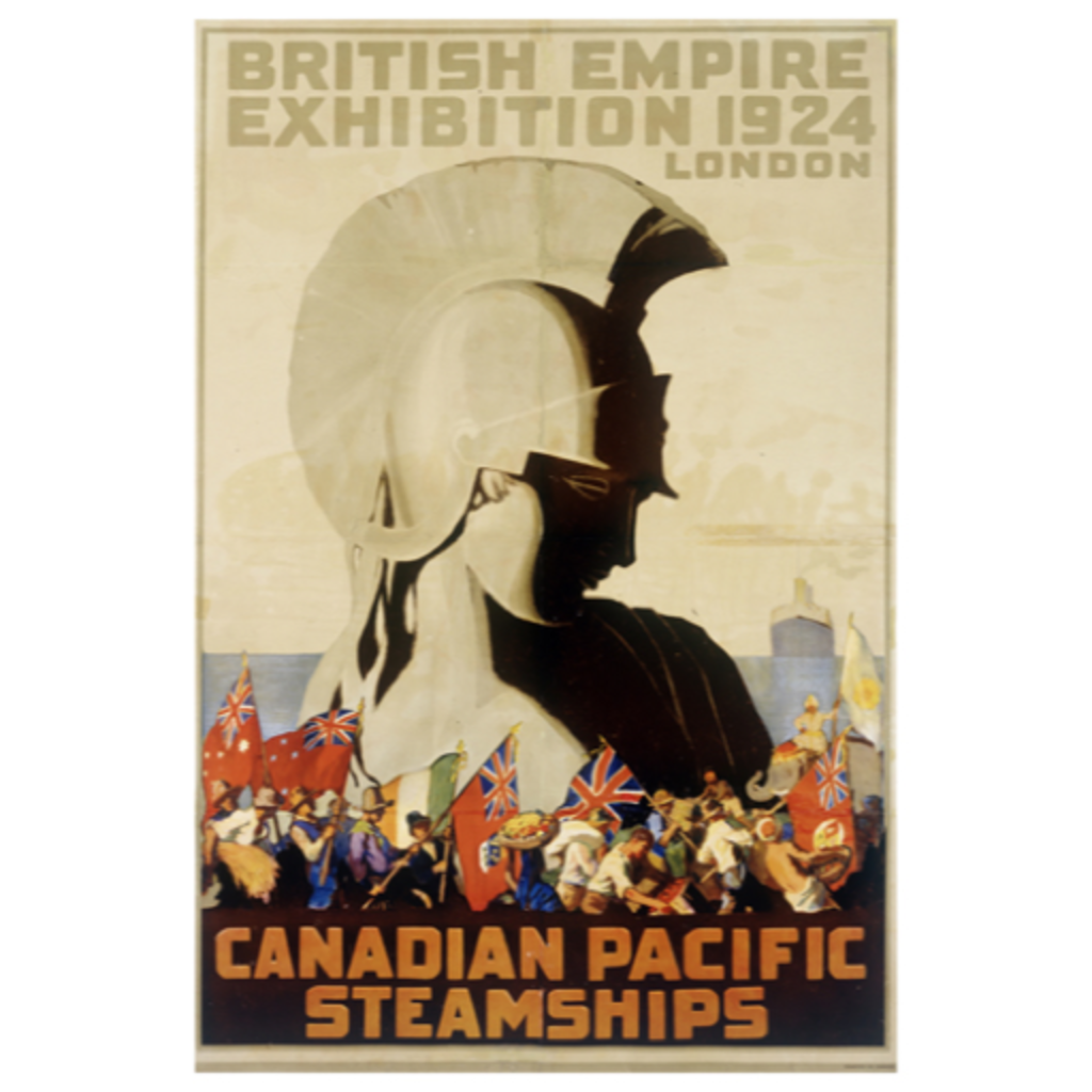Eurographics British Empire Exhibition 1924, London, Canadian Pacific Steamships