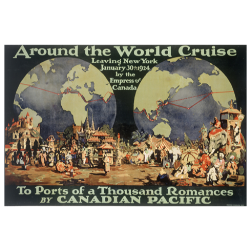 Eurographics Around the World Cruise New York to Ports of a Thousand Romances
