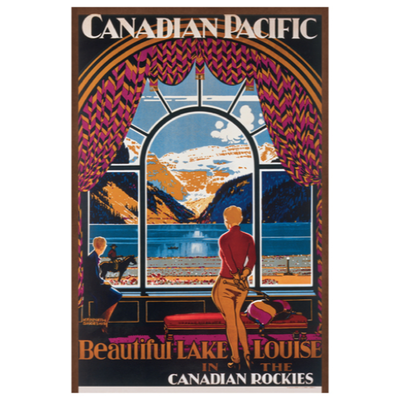 Eurographics Canadian Pacific, Beautiful Lake Louise