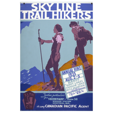 Eurographics Sky Line Trail Hikers, Annual Hike 1935