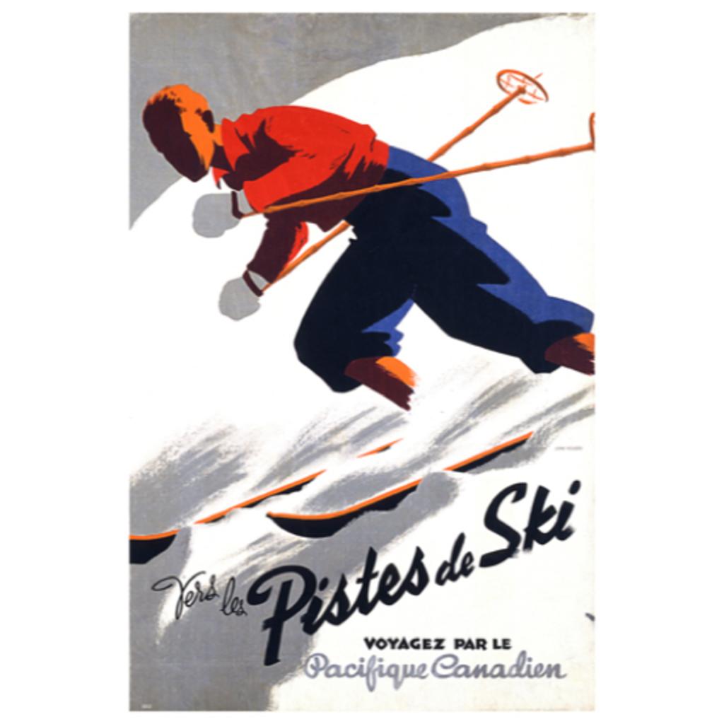Eurographics Vers les Pistes de Ski, Voyagez par le Pacifique Canadien
