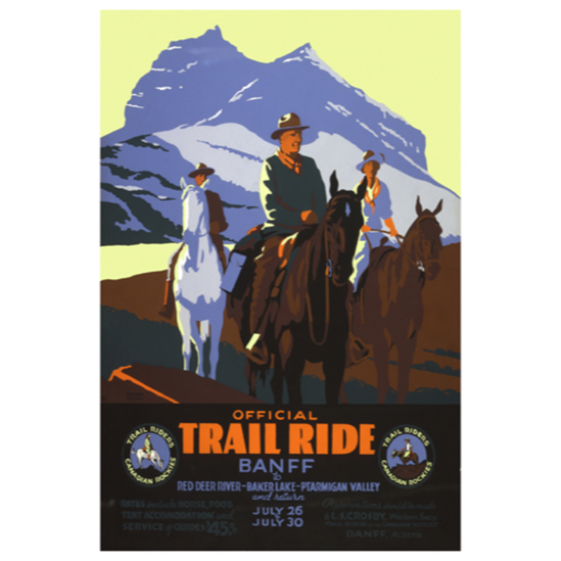 Eurographics Official Trail Ride Banff