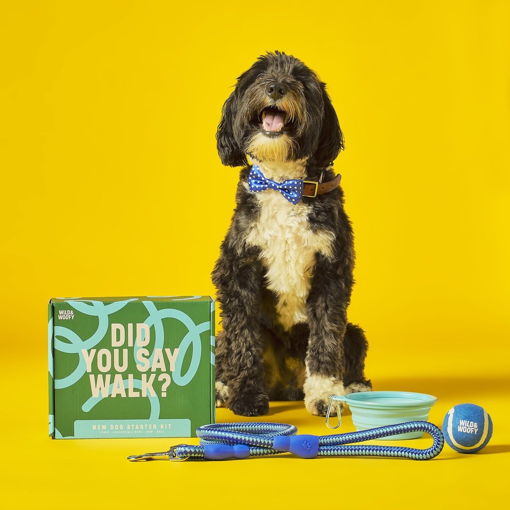 Wild & Wolf New Dog Starter Kit