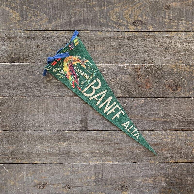 Vivid Vintage Vintage Banff  Pennant Green