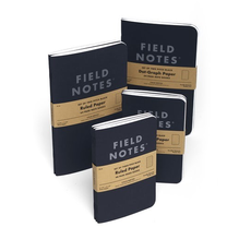 Field Notes Field Notes Pitch Black Memo Book Ruled