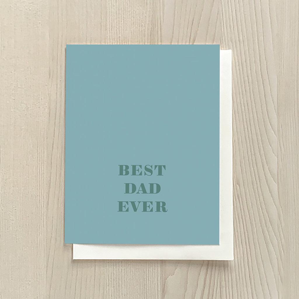 Vivid Print Best Dad Ever