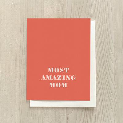 Vivid Print Most Amazing Mom