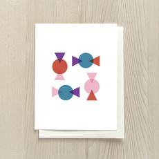 Vivid Print Simple Bon Bon