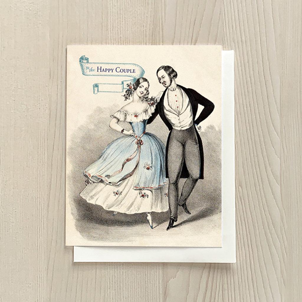 Vivid Print Anniversary Couple