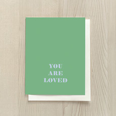 Vivid Print You Are Loved