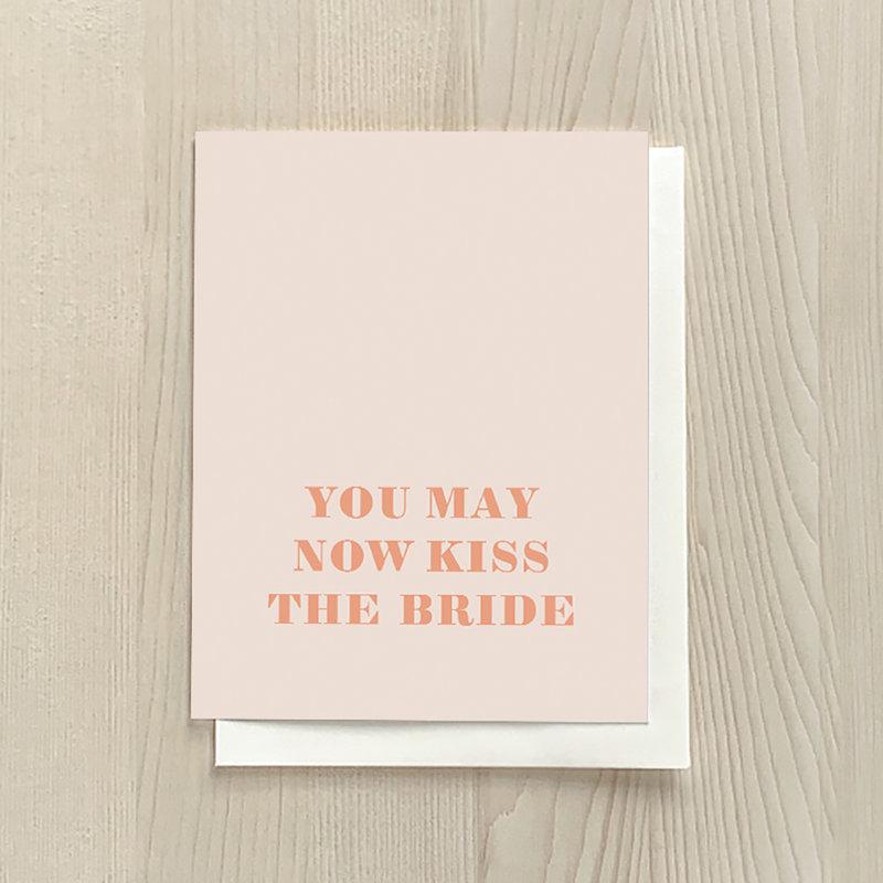 Vivid Print Kiss The Bride