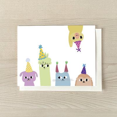 Vivid Print Birthday Gang