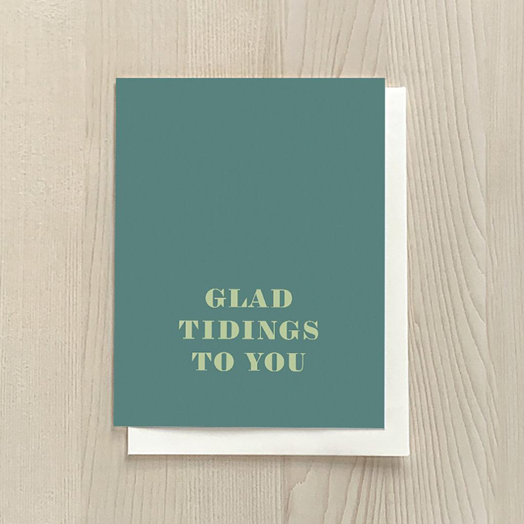 Vivid Print Glad Tidings