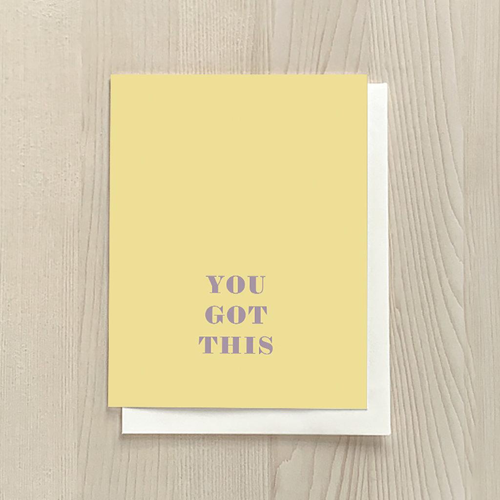 Vivid Print You Got This