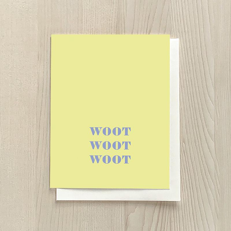 Vivid Print Woot Woot Woot