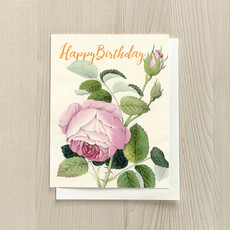 Vivid Print Birthday Rose