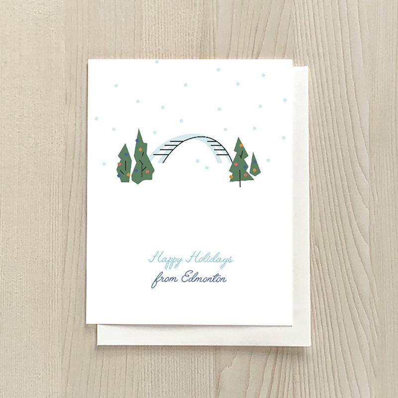 Vivid Print Happy Holidays from Edmonton