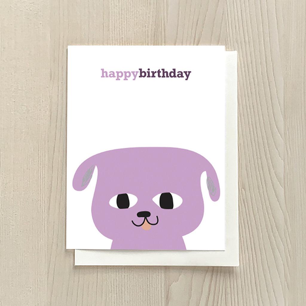 Vivid Print Birthday Dog