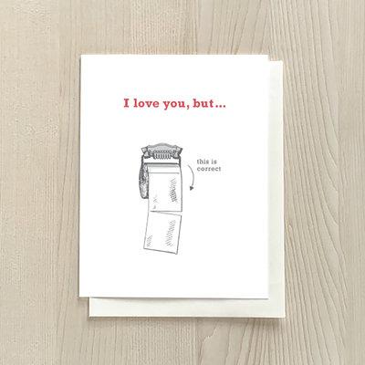 Vivid Print I Love You But